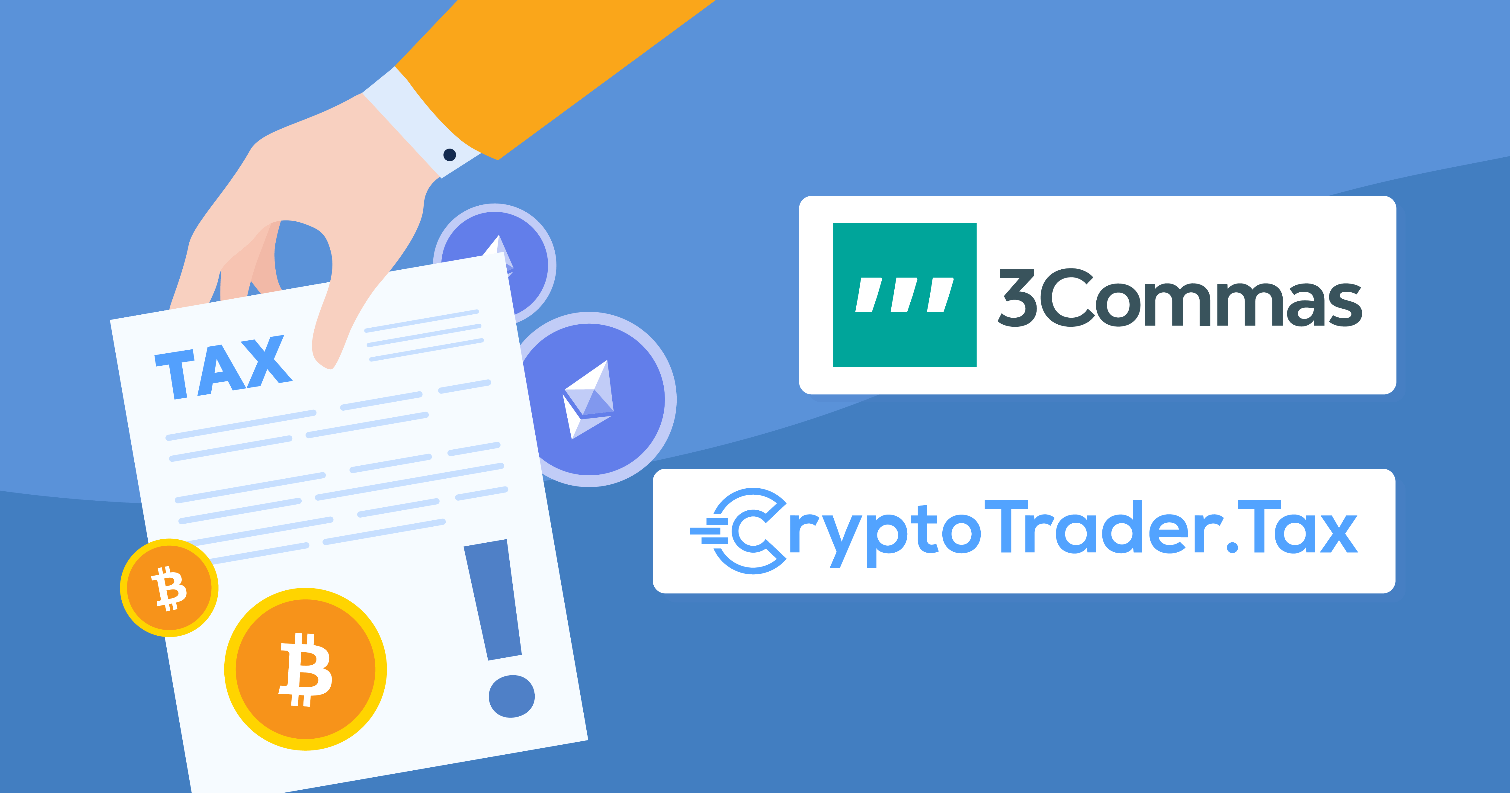 3Commas Partners Up With CryptoTrader.Tax To Bring Automatic Tax Reporting To Users