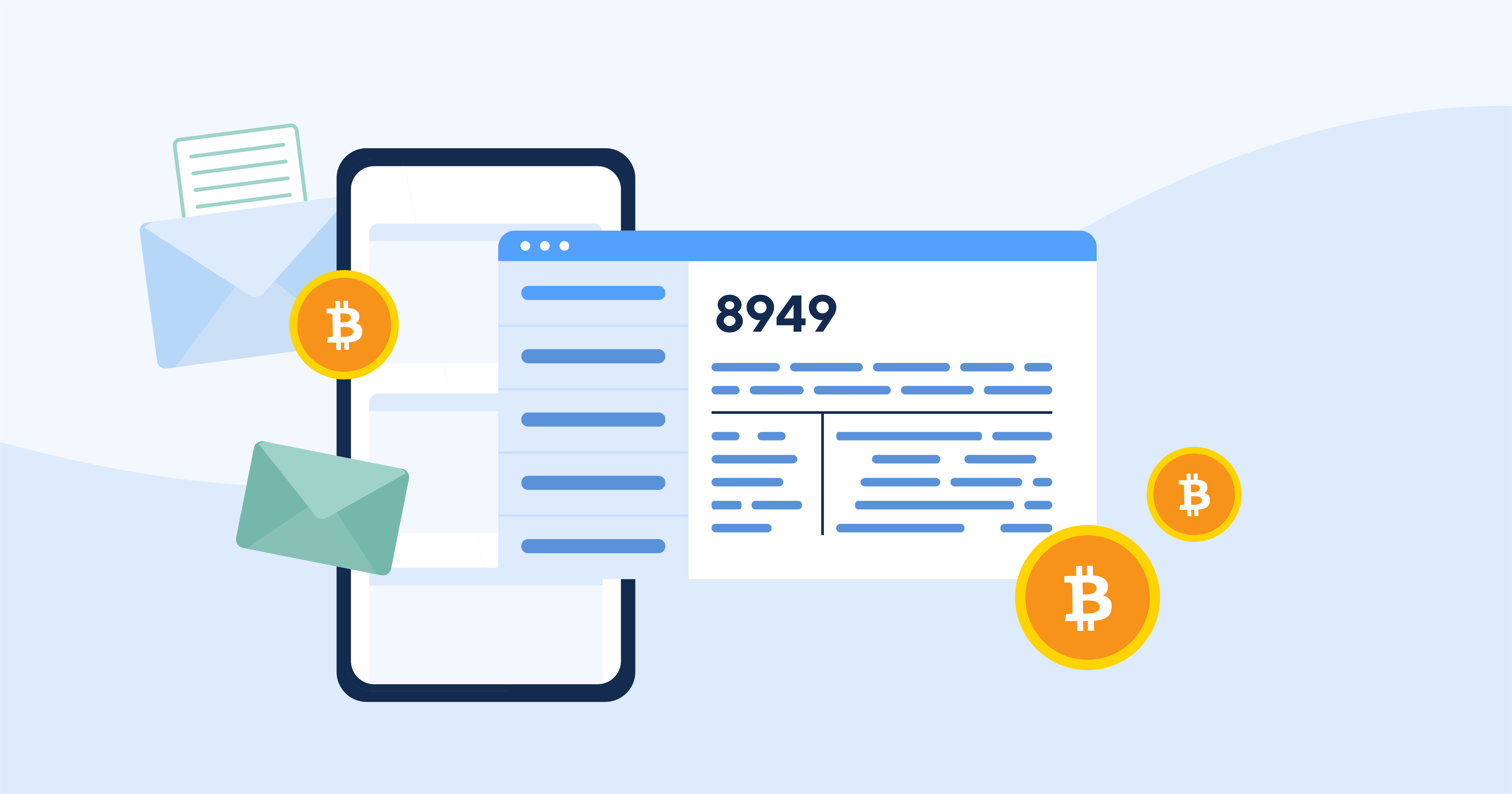 Mailing in form 8949 for e-Filing cryptocurrency traders
