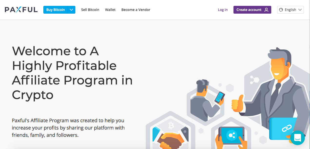 crypto affiliate program paxful