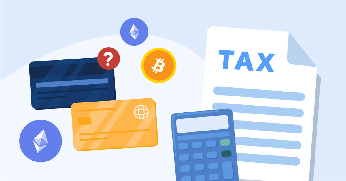 How are crypto debit and credit cards taxed?