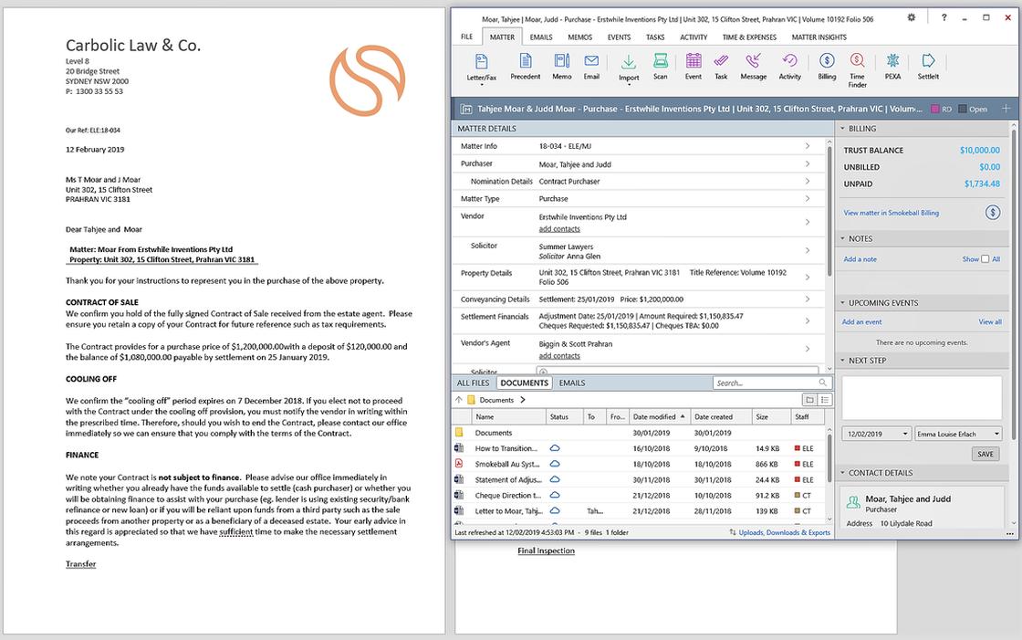 legal document management