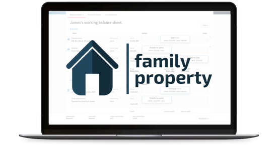 FamilyProperty software Integration for Family Lawyers
