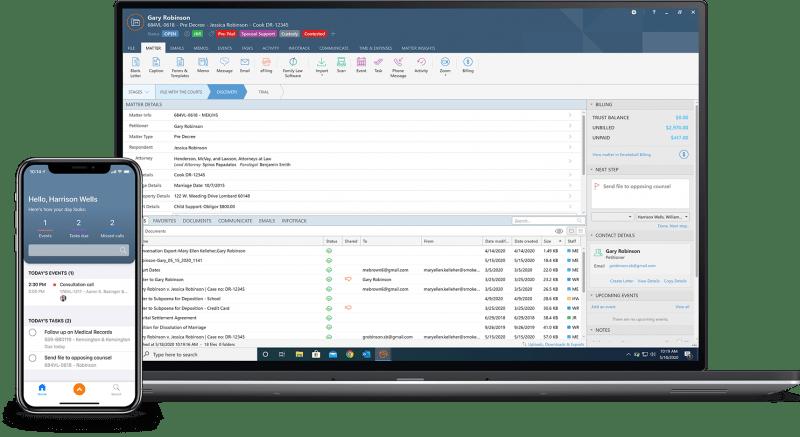 cloud legal practice management software