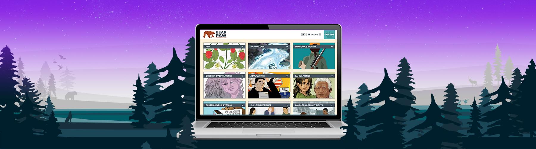 Bear Paw Media Website