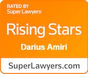 SuperLawyers Rising Stars Badge