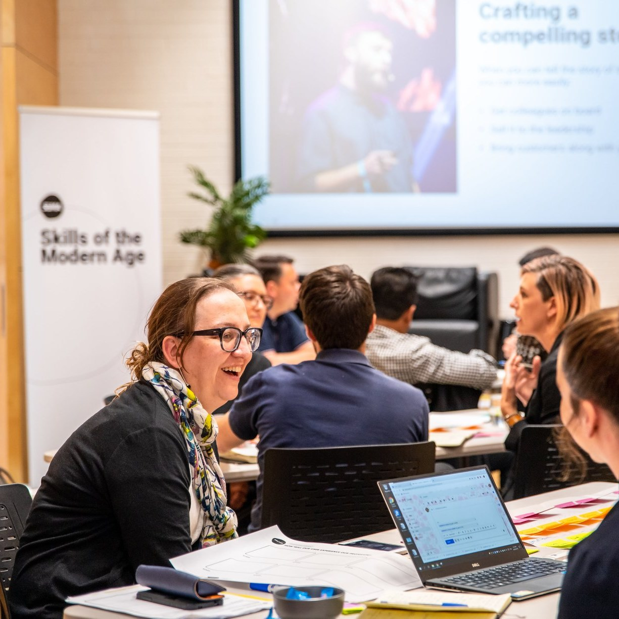 In-person workshop in Perth introducing human-centered design using design thinking principles