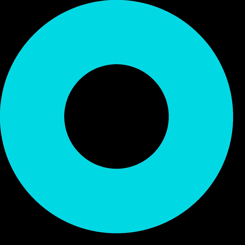 blue circle shape
