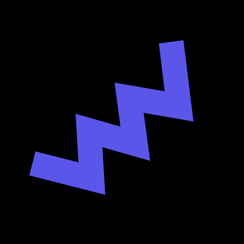 purple squiggle line