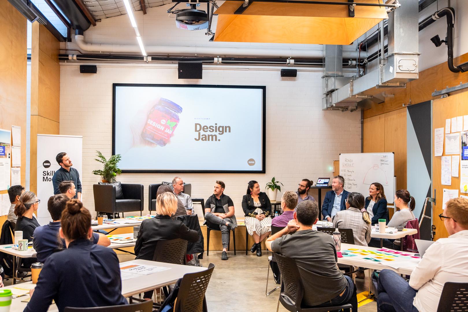 Design Jam Design Skills 2-day Perth bootcamp