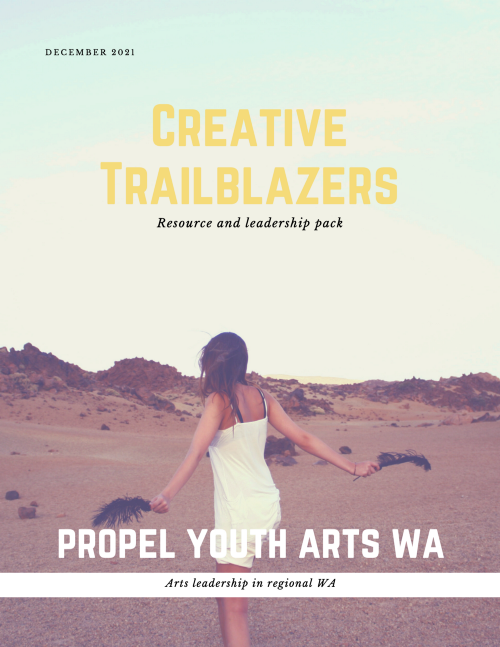 Properl Youth Arts WA creative trailblazers