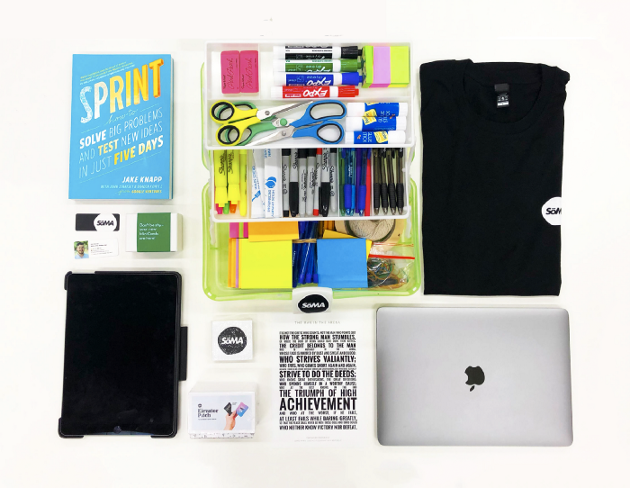 design toolkit used by Skills of the Modern Age for workshops