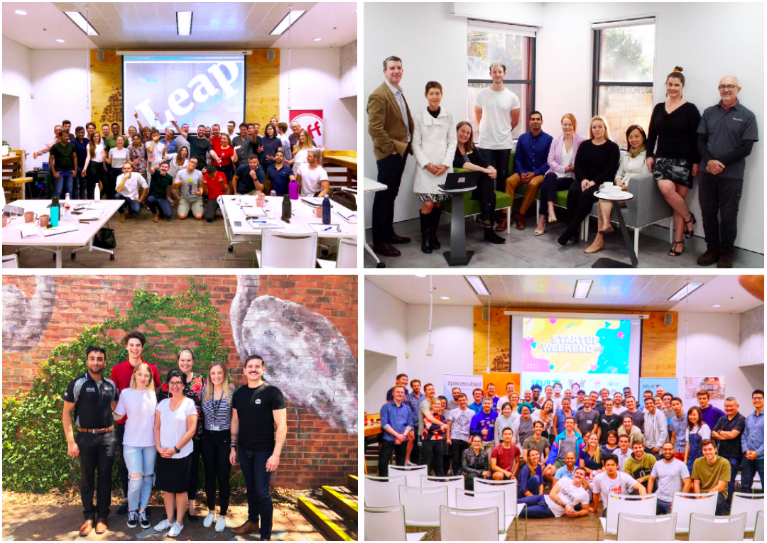 Plus Eight Leap Perth, Plus Eight Sprint City of Canning; Curtin Accelerate 2019, Startup Weekend #13