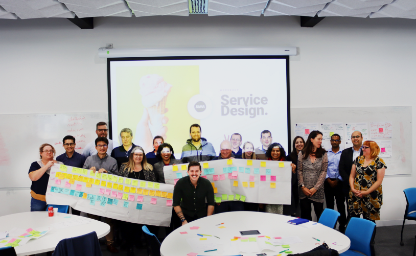 The amazing team at Flinders University who attended our Service & Experience Design Bootcamp