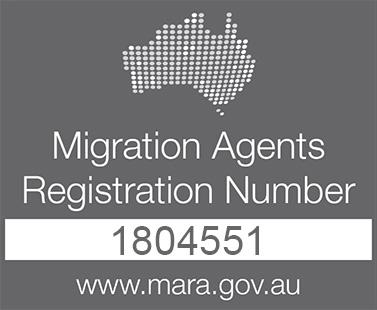 Migration Agent Registration Number - 1804551