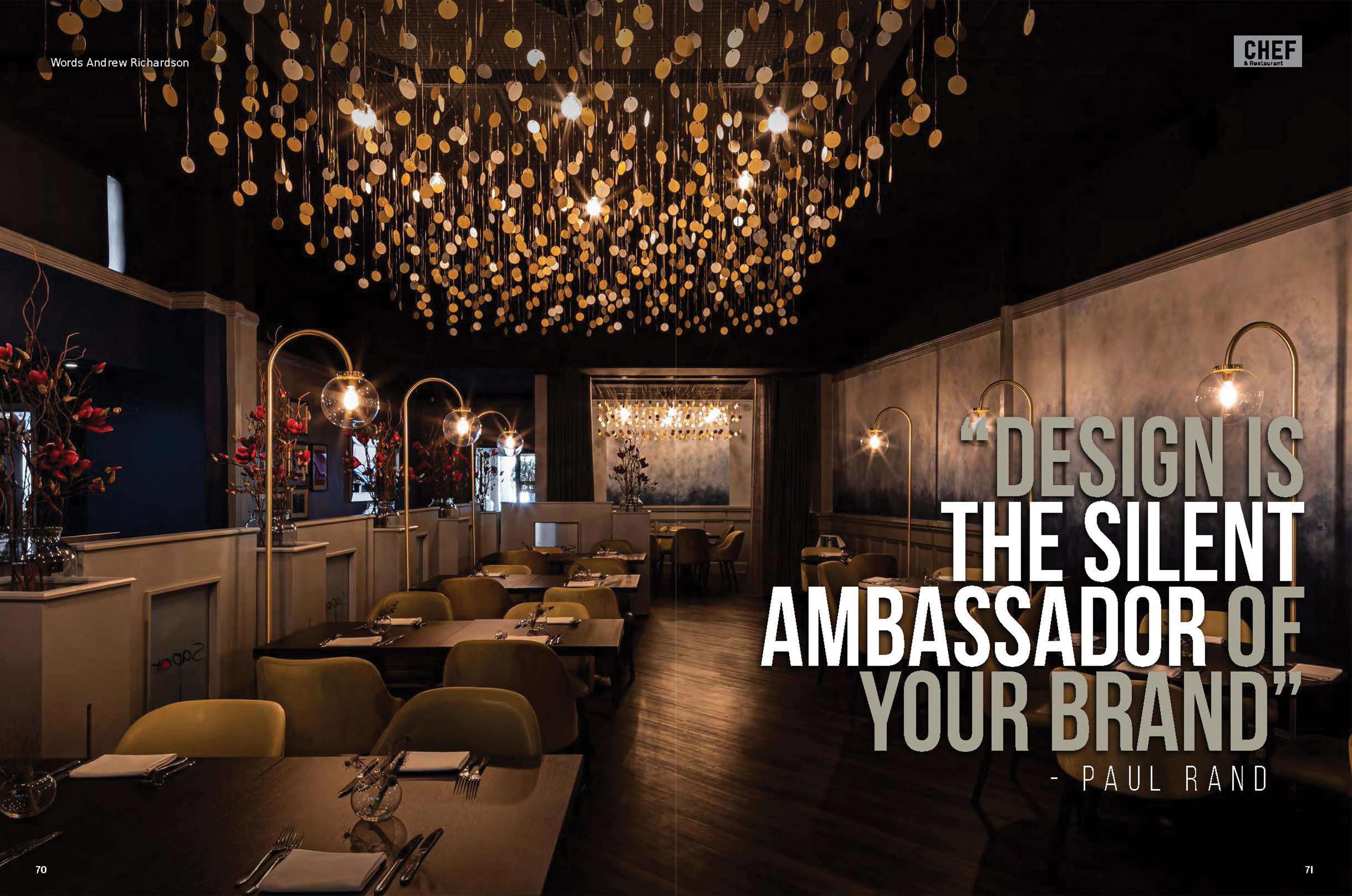Tony Matters restaurant interior design