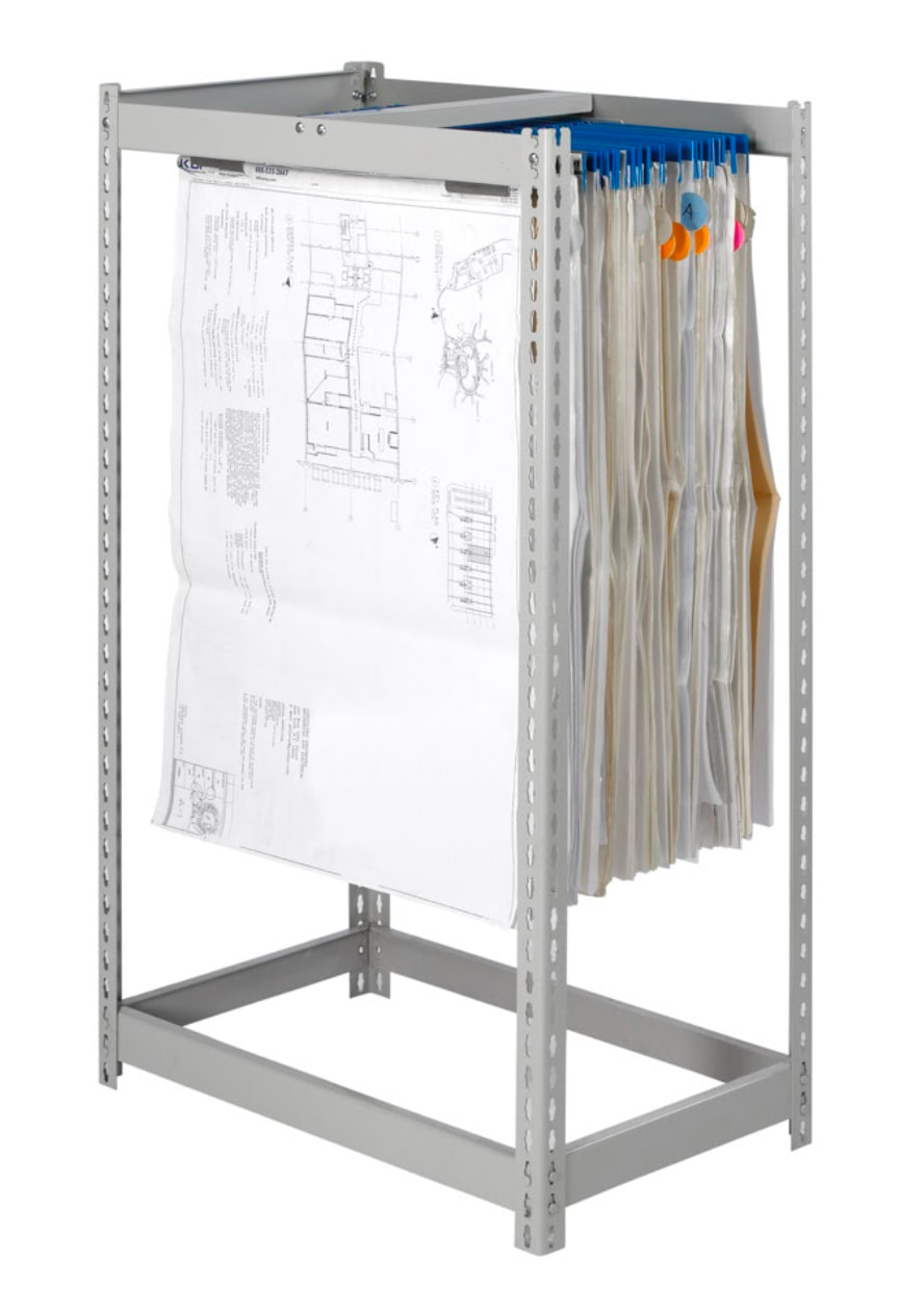 1-Tier Blueprint Storage Rack