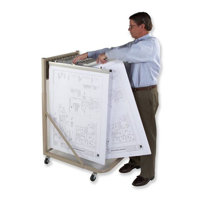 Traditional Rolling Stand Rack