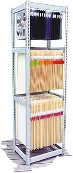 3-Tier X-Span File Storage Rack