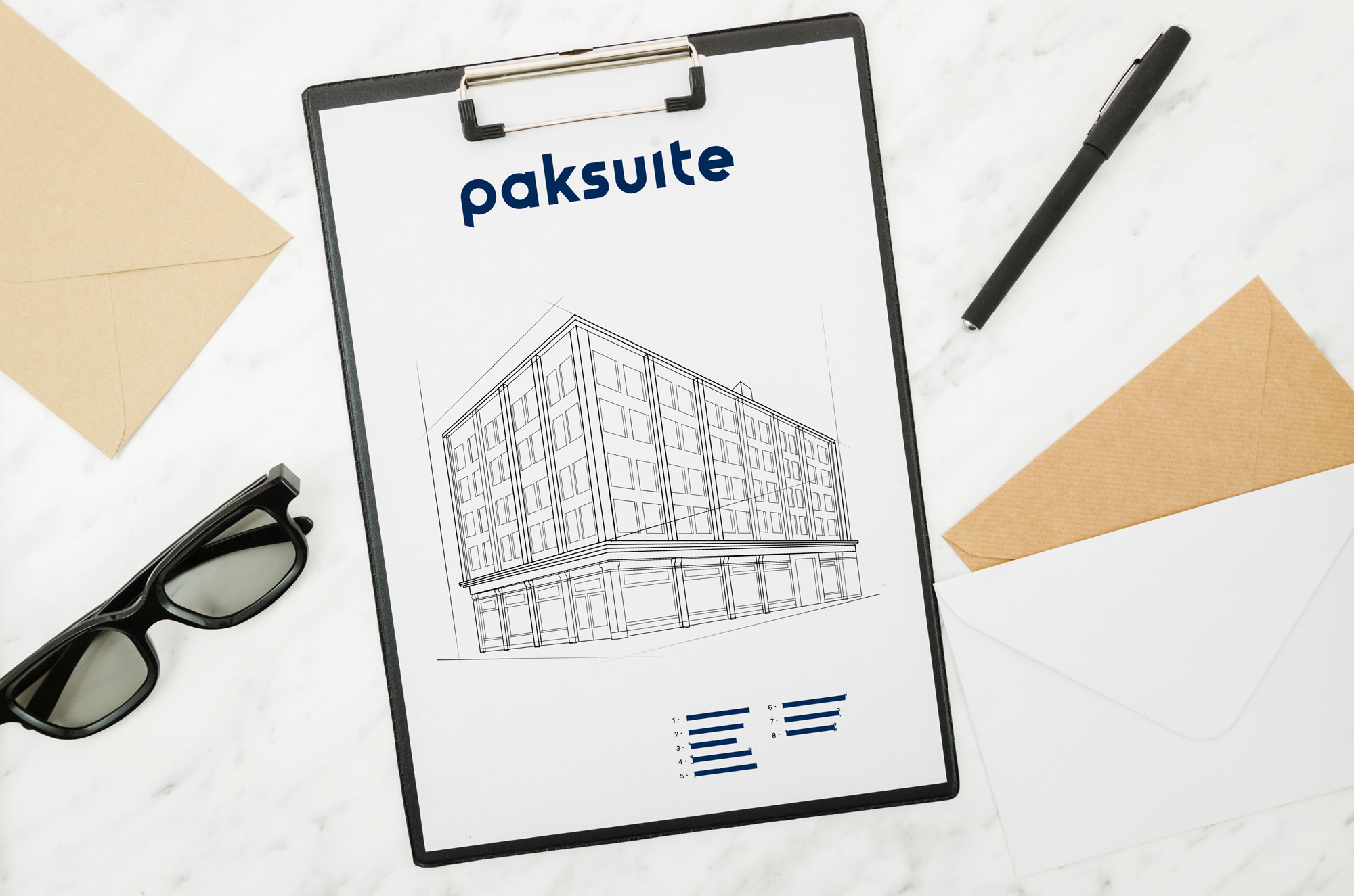 Paksuite Investor Marketing