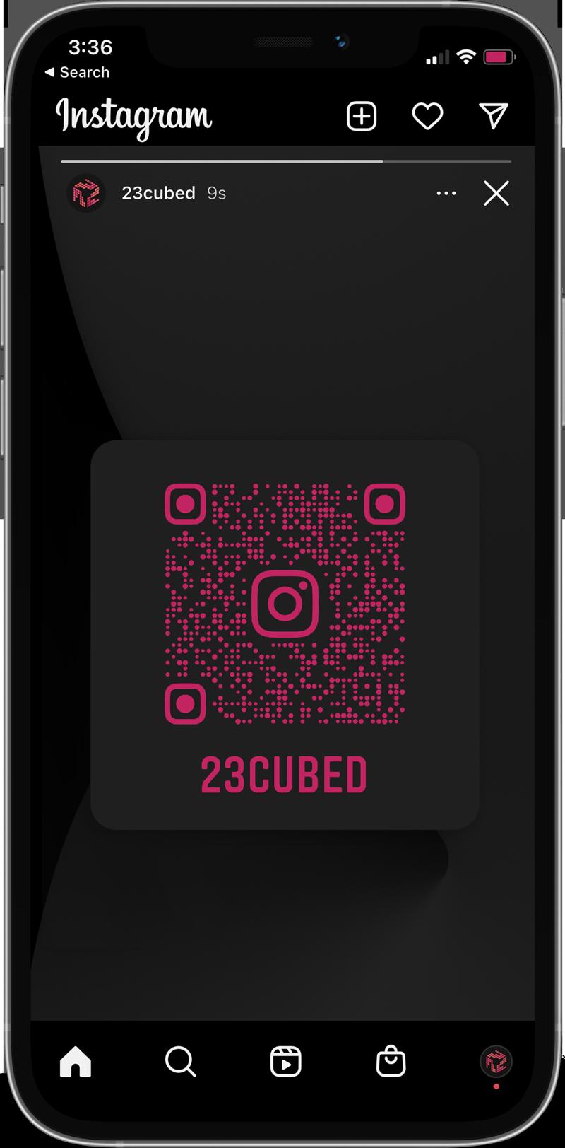 23cubed Instagram Design