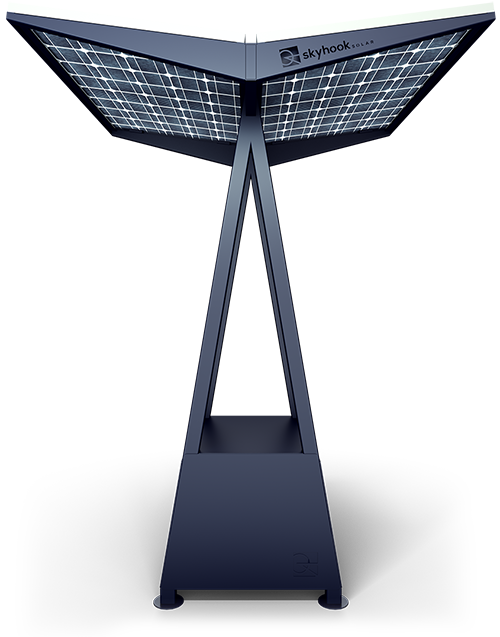 Skyhook Solar D2 Station front view