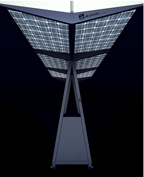 Skyhook Solar D6 Station front