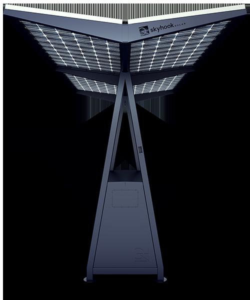 Skyhook Solar D4 Station front