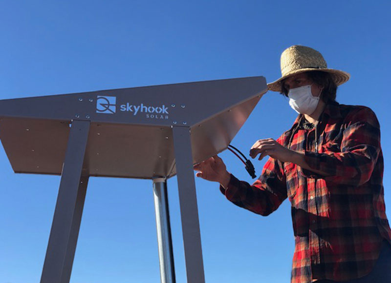Skyhook Solar K2 Station Kit implementation