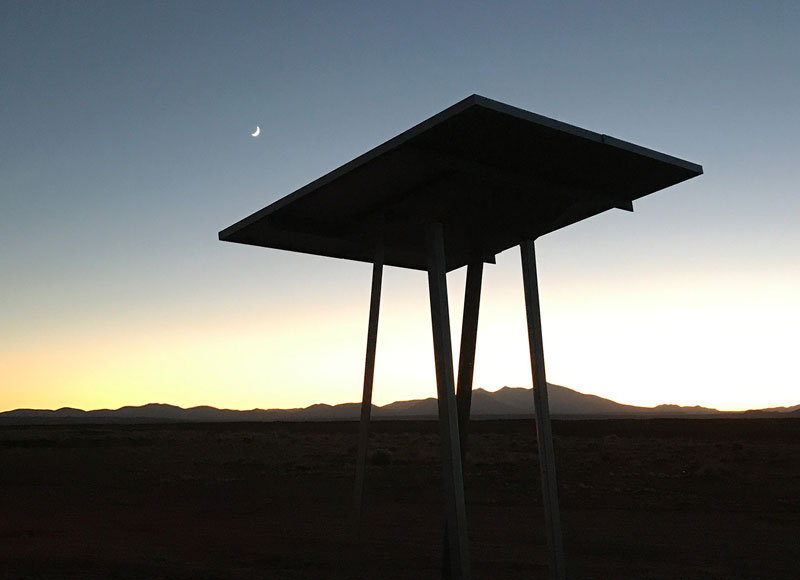 Skyhook Solar K2 Station Kit at sunset