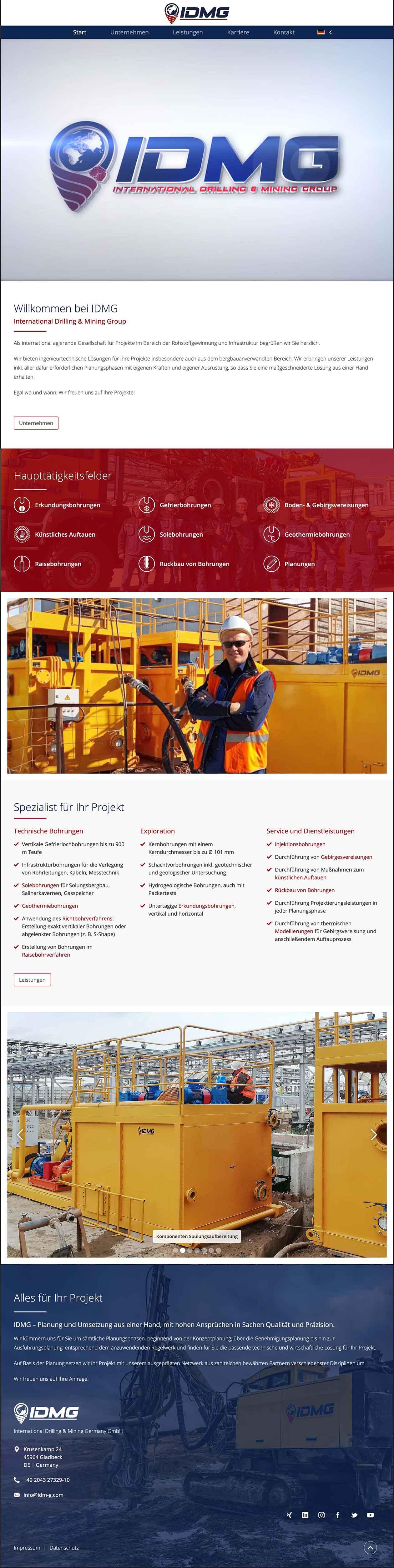 International Drilling & Mining Group