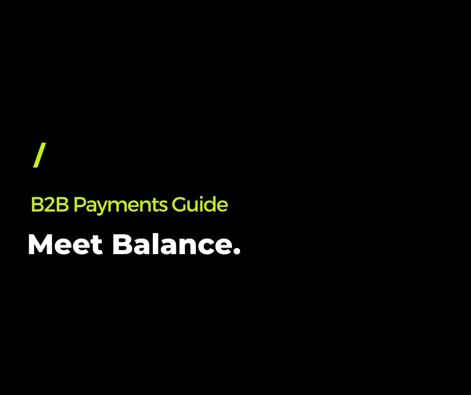 Meet Balance