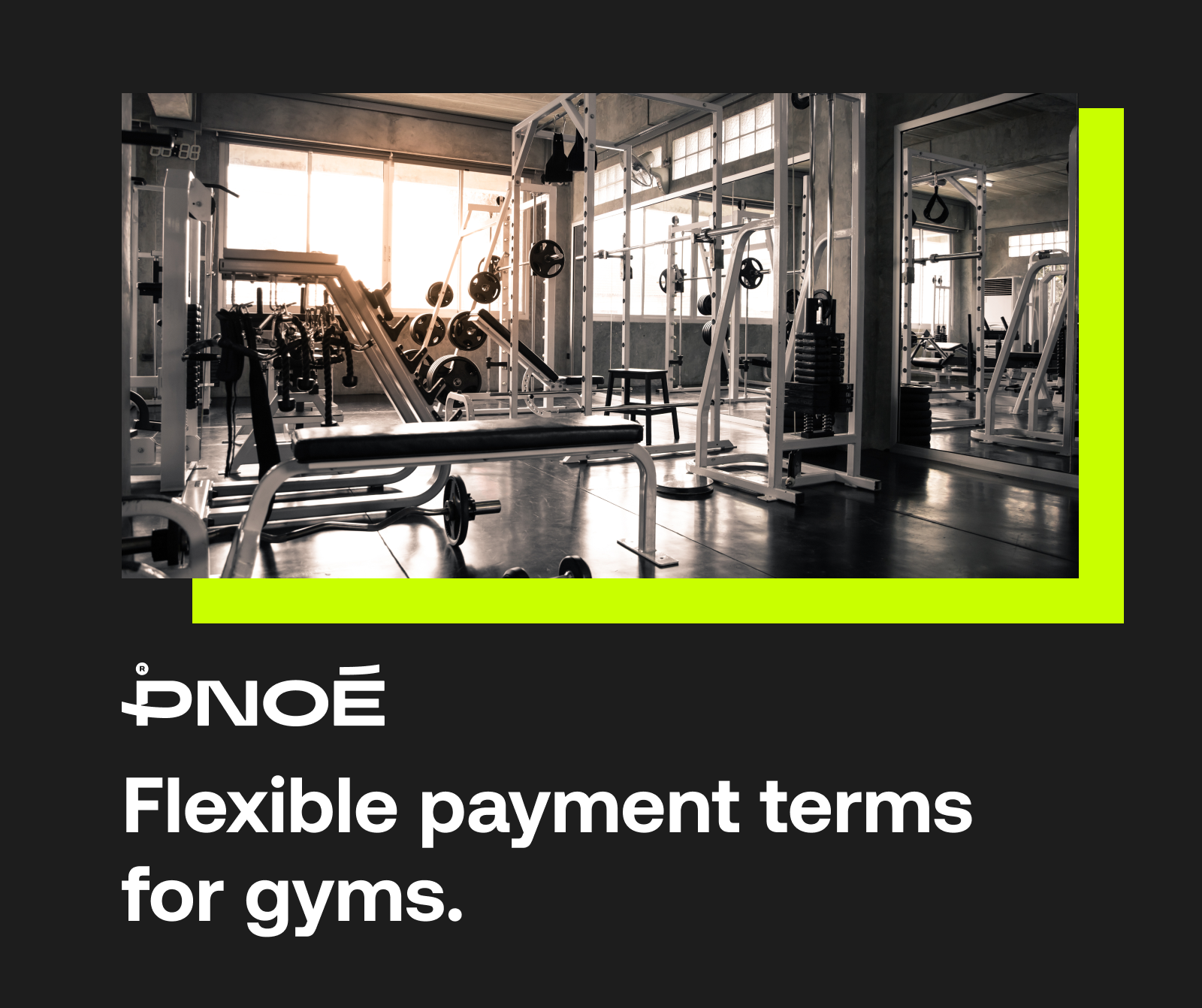 PNOĒ - Building Healthy Fitness Businesses with Flexible Payments