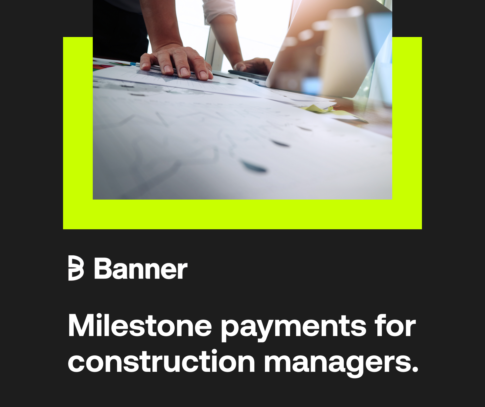Banner -  Streamlining Transactions with Simple B2B Milestone Payments