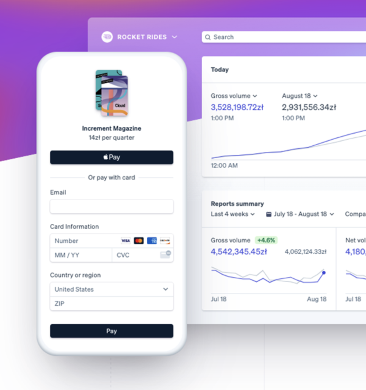 while setting up an online store make sure that payments are easy to make, consider Stripe as your payment solution