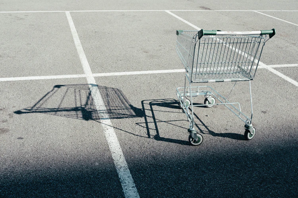 shopping cart is an essential egrocery app feature