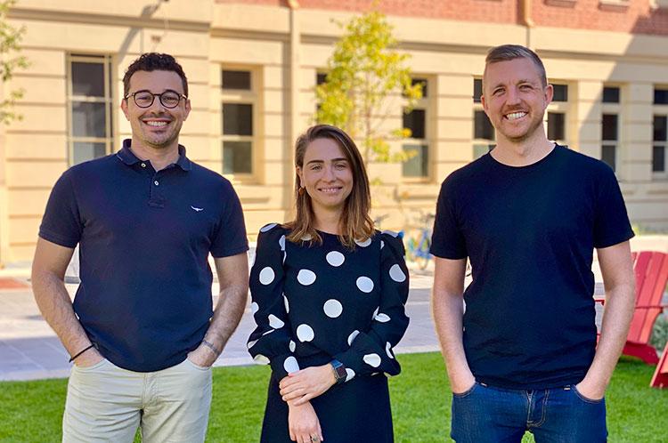 Steven Karamanis, Maria Vieira and Ben Colley join Teamgage