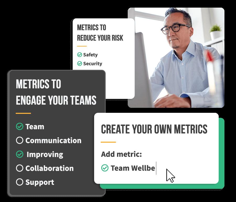 Teamgage survey metrics