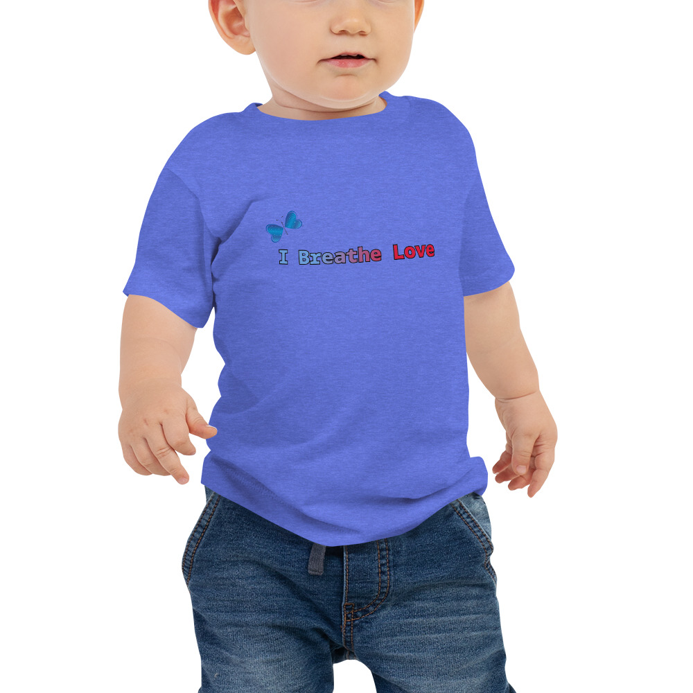 I Breathe Love Baby Short Sleeve Tee