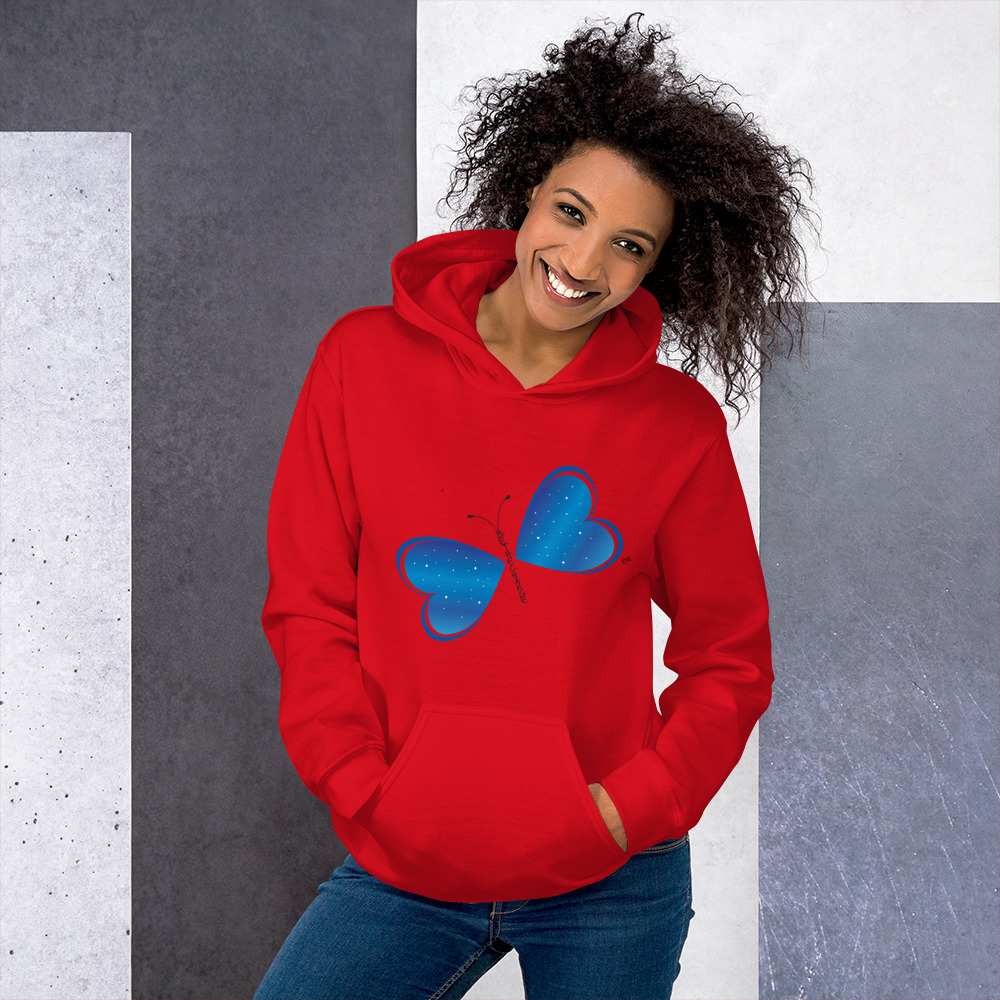 Be the Change Butterfly Hoodie