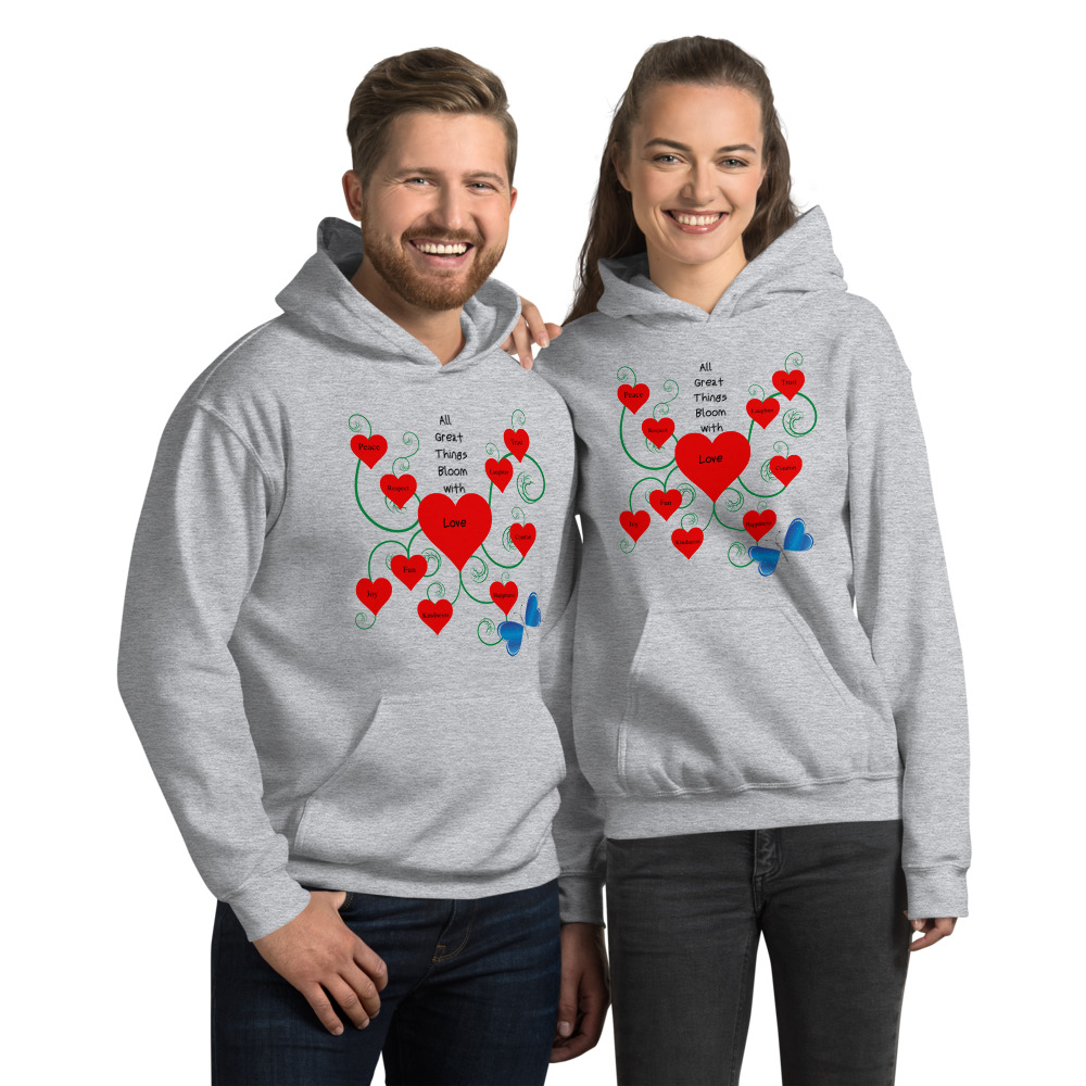 Bloomin' with Love Hoodie