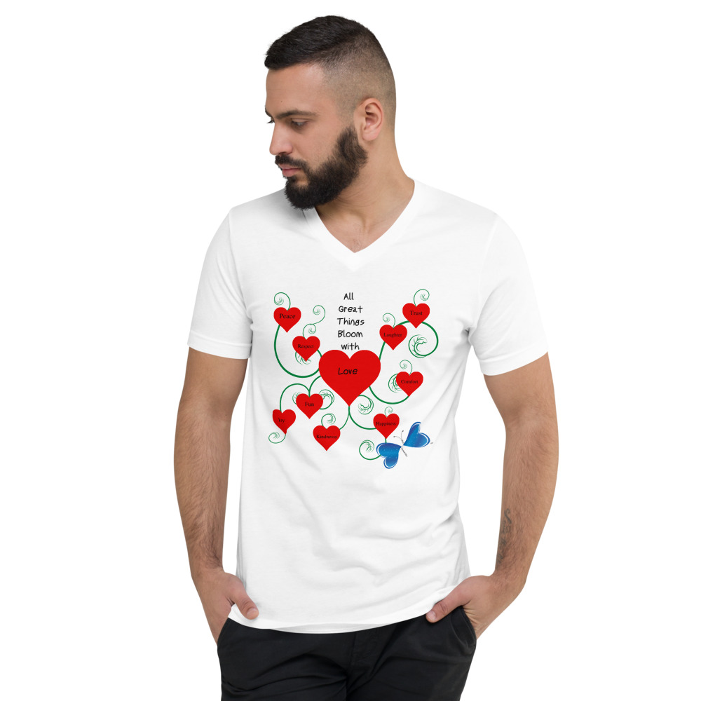 Bloomin' with Love Short Sleeve T-Shirt