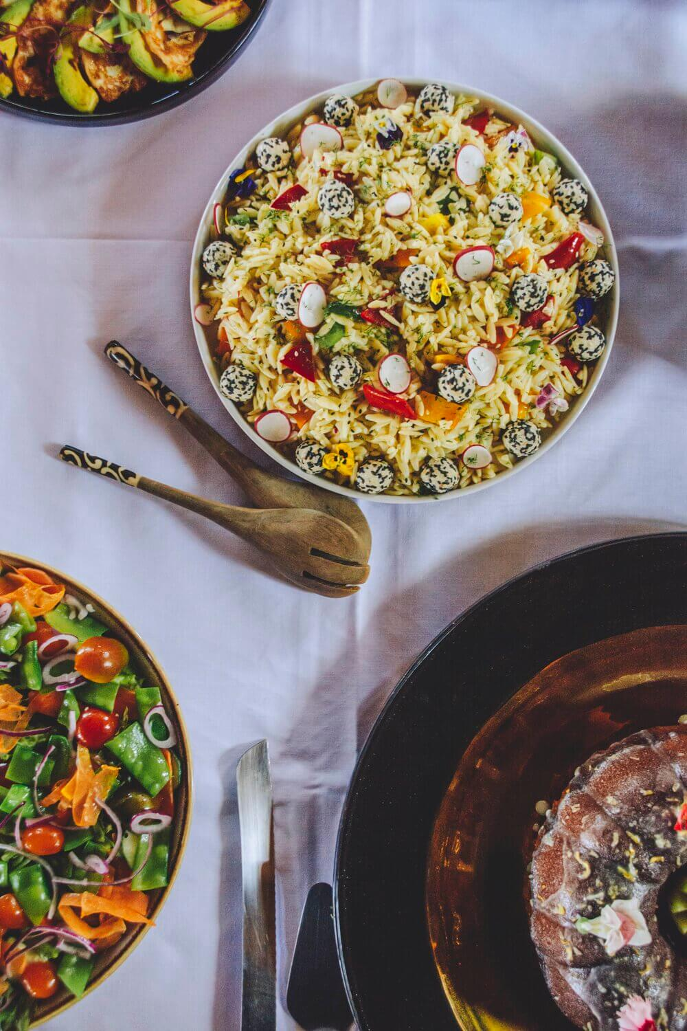 From Our Kitchen - Orzo Salad