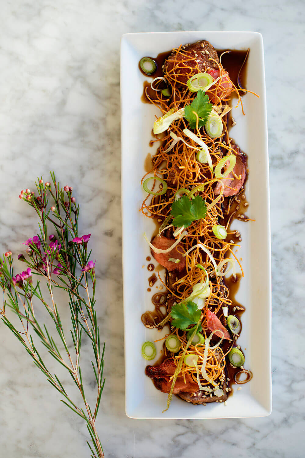 From Our Kitchen - Beef Tataki