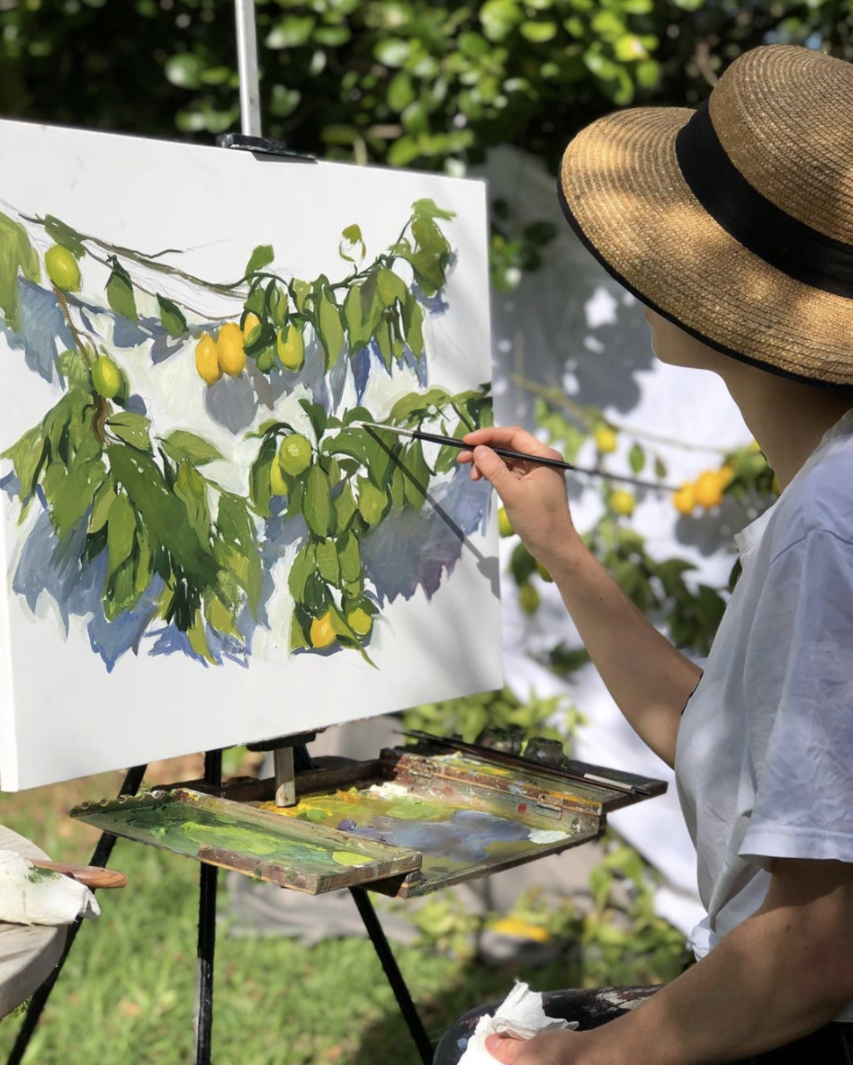 Oil Painting Workshop at Last Word Constantia