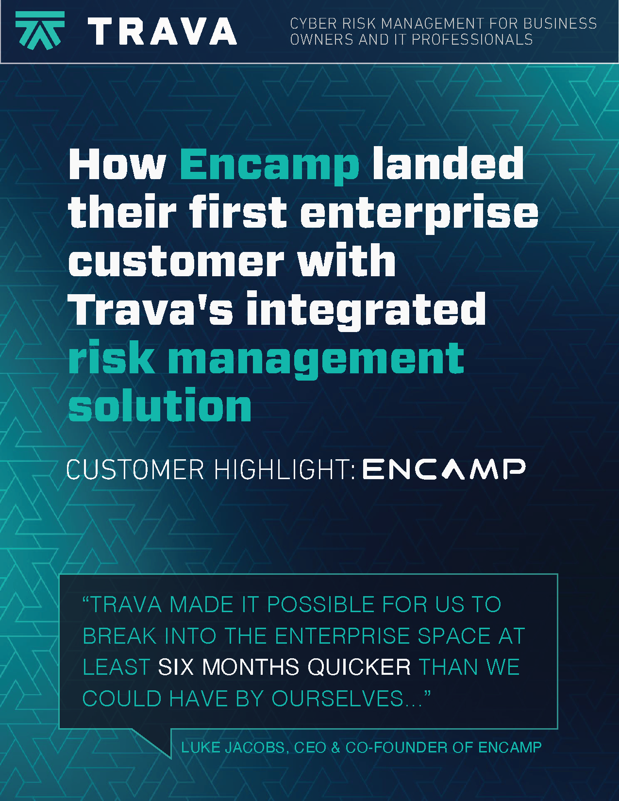 Encamp Case Study Cover Page