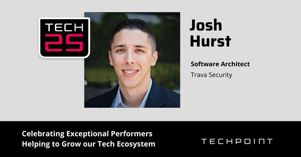 Trava Software Architect Josh Hurst Recognized as TechPoint Tech 25 Award Winner