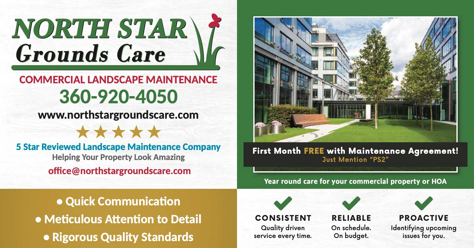 North Star Grounds Care postcard