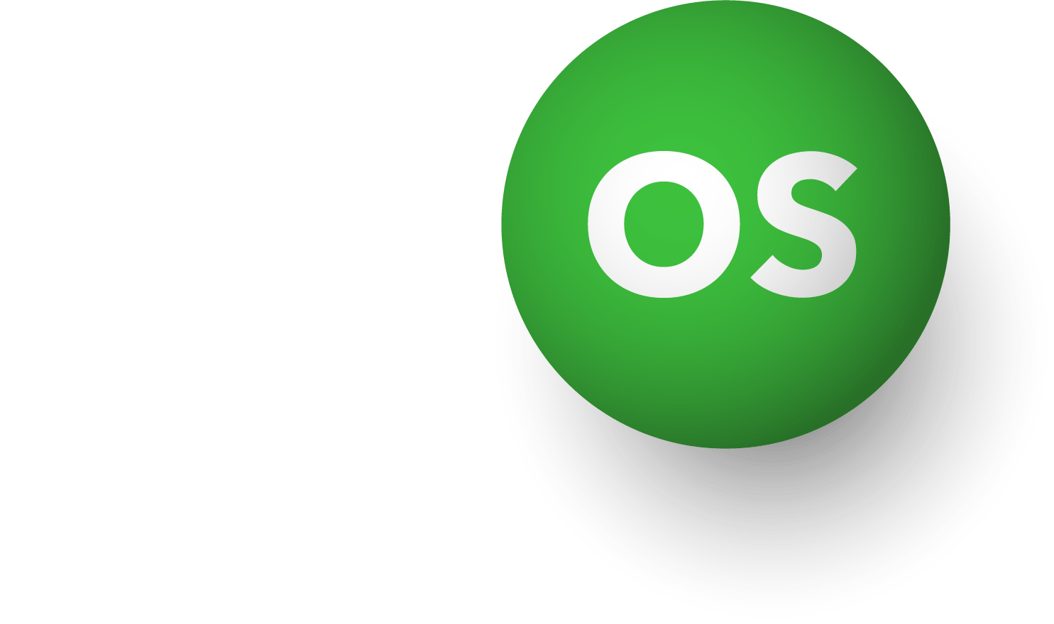 Green Dot Operating System Logo