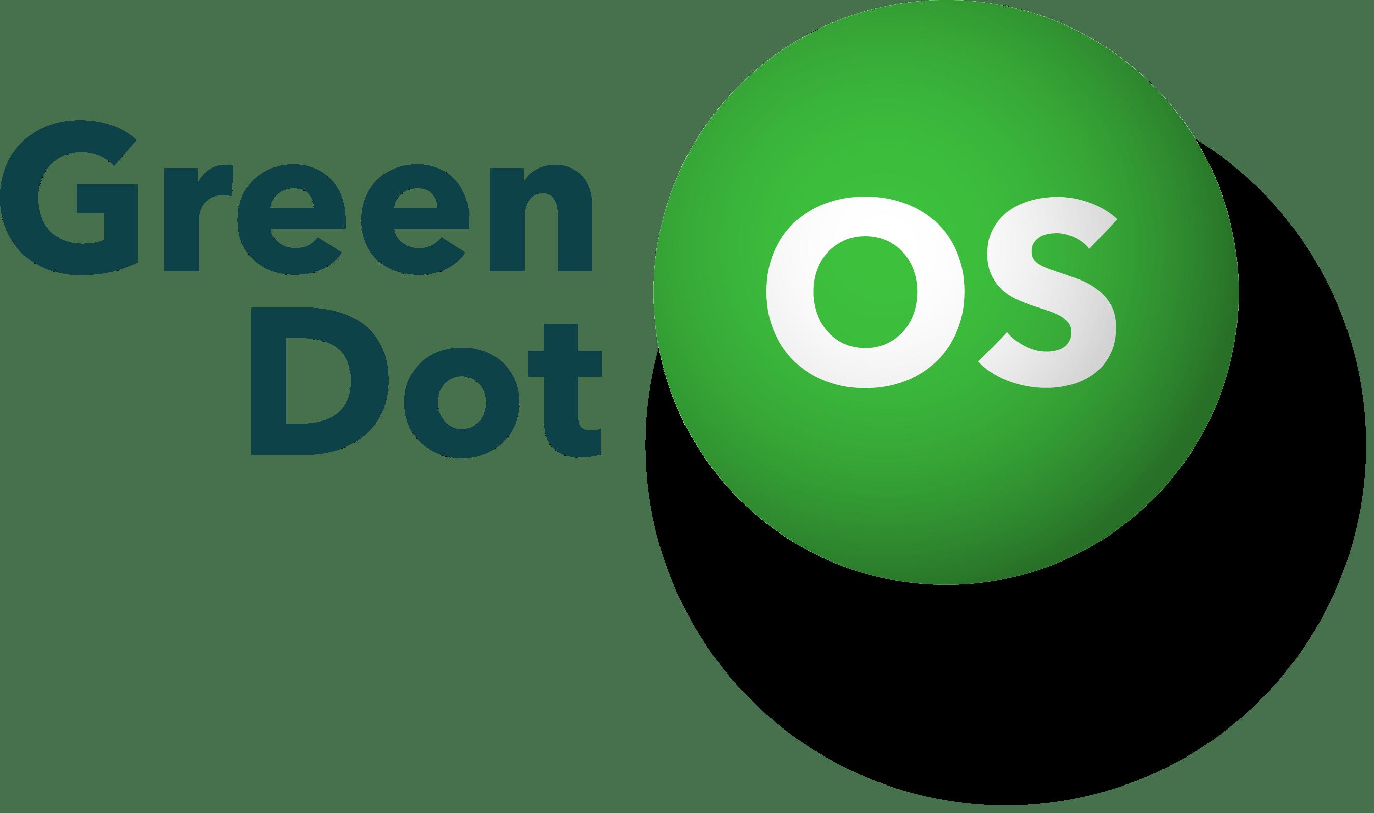 Green Dot OS logo