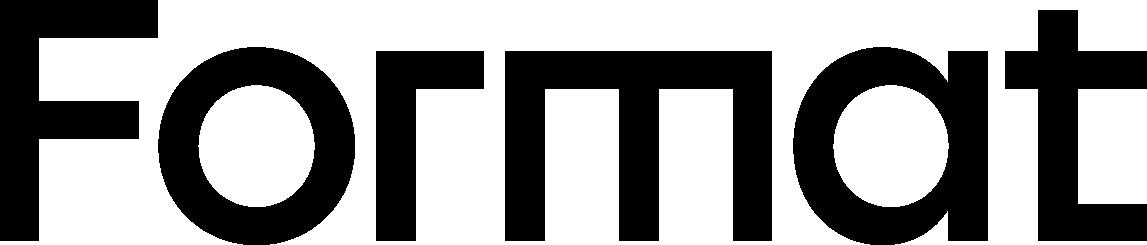 Format logo text